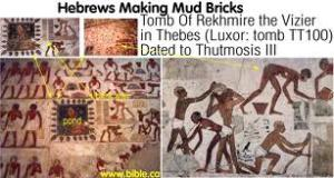 hebrews making bricks