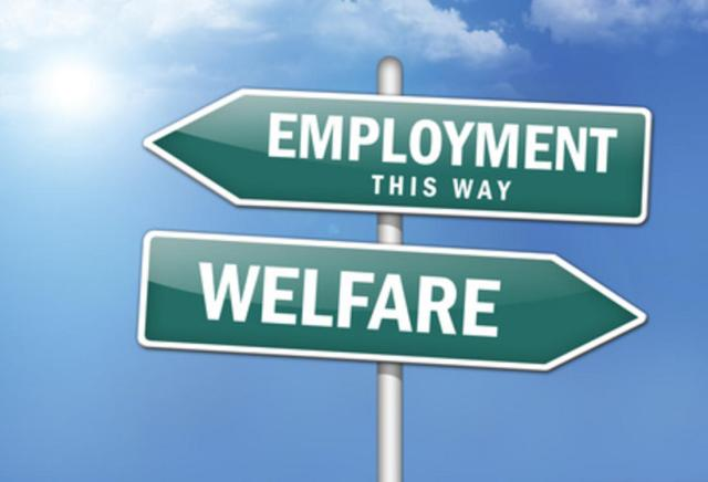 welfare-employment-street-sign